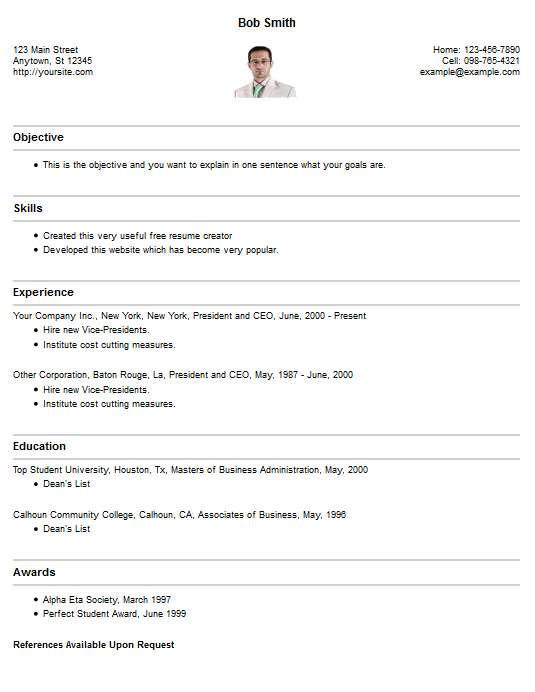 Easy Resume Creator - Download